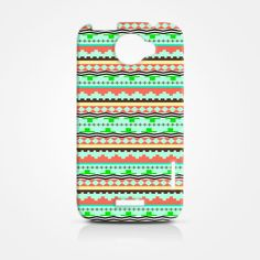 Art Aztec Tribal Tribe Pattern HTC One X Case, HTC One X Cover, Hardshell Case