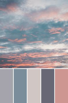 Cloud Color Palettes - This Growing Home