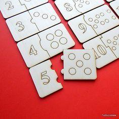 ČÍSLICE puzzle - topolová