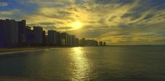 DSC_0047.NEF - Por do sol em Fortaleza, Ceará,Brasil.