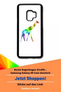 Kaufe dir jetzt diese Handyhülle für dein Smartphone. Lass dir diese und weitere Tier-Zeichnungen auf deine Accessoires drucken. Lasse dich inspirieren   Schau jetzt in unserem Shop vorbei! Klicke jetzt auf den Link! #Handyhülle #Accessoires #Stile #Spreadshirt #Giraffe #Rainbowanimals #Mode #Modeinspiration #Inspiration #Accessoireidee #Samsung #Smartphone #SamsungGalaxyS9 #Handy