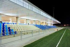 Imagen 4 de 33 de la galería de Pista de Atletismo de Calvià / Niu Arquitectura. Fotografía de José Hevia