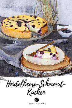Super cremiger Heidelbeer-Schmand-Kuchen - easy und lecker