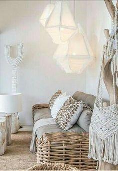 Vicky's Home: Estilo natural inspirado en la naturaleza / Natural style inspired by nature Deco Boheme Chic, Home Interior, Interior Design, Ideas Hogar, Living Spaces, Living Room, My New Room, Home Decor Inspiration, Boho Decor
