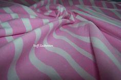 Baumwolljersey Stripes light pink Ringel rosa weiß von Stoff-Zaubereien auf DaWanda.com