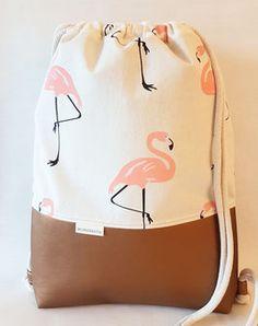 Turnbeutel Flamingo  von www.wunderstil-shop.de