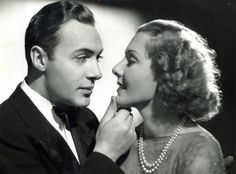 """History is Made at Night,"" 1937, starring Charles Boyer and Jean Arthur."