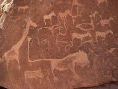 Twyfelfontein or /Ui-//aes, Namibia