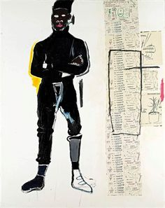 Mp by Jean-Michel Basquiat