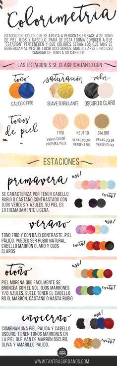 Tantras Urbanos - Colorimetría: Cuando los colores te acompañan