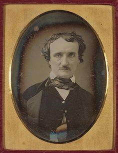 Exemplo de um daguerreótipo. Edgar Allan Poe