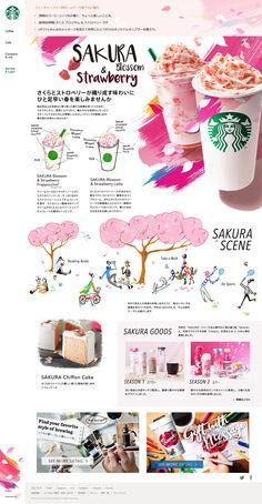 [新商品情報] さくら ブロッサム & ストロベリー ラテ|スターバックス コーヒー ジャパン