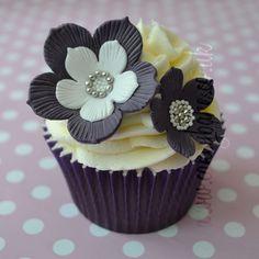 Gorgeous flower cupcakes