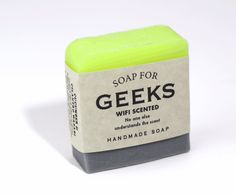 Soap for Geeks Whiskey River Soap, Soap Labels, Best Soap, Home Made Soap, Handmade Soaps, Looks Cool, Soap Making, Bath Bombs, Funny Gifts