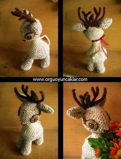 Amigurumi Christmas Ornament Pattern by Denizmum on Etsy, $6.50