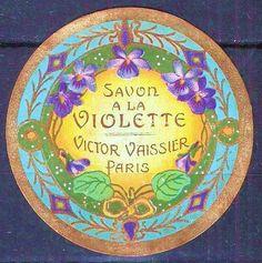 vintage french label Vintage Labels, Vintage Cards, Vintage Images, French Vintage, Vintage Paper, Paris France, Cosmetic Labels, Etiquette Vintage, Soap Labels