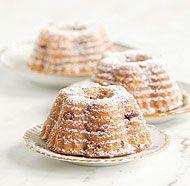 Cranberry & Almond Bundt Cakes