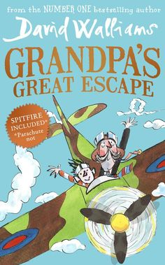 Grandpa's Great Escape - David Walliams Got one for Amelia £5 out of sainsburys