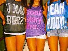 """Not gonna lie, the inner internet-meme-fangirl in me wants the """"cool story bro"""" tank."""
