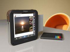 Polaroid Socialmatic: câmera inspirada no Instagram com suporte para Wi-Fi e 3G será lançada em 2014. #tecnologia #camera #wifi #3g #polaroid