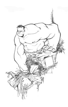 Hulk by Franciso Herrera ✤    CHARACTER DESIGN REFERENCES   キャラクターデザイン • Find more at https://www.facebook.com/CharacterDesignReferences if you're looking for: #lineart #art #character #design #illustration #expressions #best #animation #drawing #archive #library #reference #anatomy #traditional #sketch #development #artist #pose #settei #gestures #how #to #tutorial #conceptart #modelsheet #cartoon #man #men #male #boy #tough    ✤