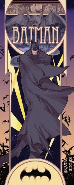 Batman by axeeee