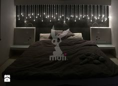 Oświetlenie dekoracyjne sypialni - zdjęcie od E-TECHNOLOGIA Leszek Łazarski