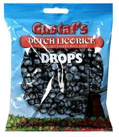Gustaf's Dutch Licorice Drops, Bags (Pack of Dutch Recipes, Gourmet Recipes, Snack Recipes, Dutch People, Deli, Pop Tarts, Liquor, Cravings, Dutch Food