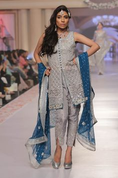 2015 Telenor Bridal Couture Week Zainab Chottani Formal Colleciton Pictures