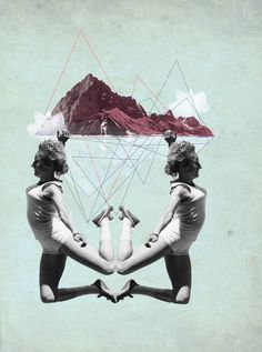 Les collages mirifiques de Julia Geiser. - Beware Magazine