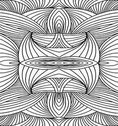 Free printable Doodle Coloring Dawings for beginners, coloring sheets, and illustrations. Abstract art PDF coloring pages. Hours of calming coloring activities.