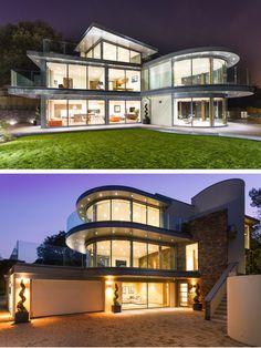 David James Architects & Associates were chosen by Husen Developments to design Ventura, a home for a family in Dorset, United Kingdom.