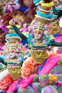 The ultimate street dancing in the world is the MassKara Festival in Bacolod City PHILIPPINES