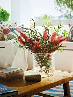 How to Design Clean  - A touch of red always spice up the place