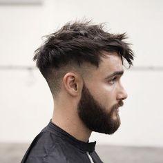 I hadn't seen Jarrah for a fair while, so I re-cut his hair even more erratic than the first time...   @jarrahvolpe   www.morrismotley.com