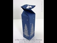 The Crafty Spark: Lovely As a Tree Twist Top Box for Ferrero Rocher Chocolates (or anything else come to think of it!)