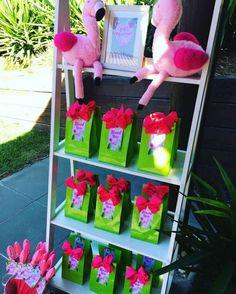 Tropical Theme Birthday Party Returns Gifts Flamingo Luau 10th
