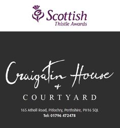 Craigatin House shortlisted for a Scottish Thistle Award!