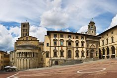 Фотогалерея Ареццо - Redigo.ru Пьяцца Гранде, Ареццо, Тоскана, Италия