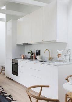 PUNTXET 30 metros cuadrados de elegancia y sencillez #deco #decoracion #decoration #hogar #home #loft #estilonordico #nordicstyle #estiloescandinavo #scandinavianstyle #cocina #kitchen