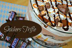 Mamas Like Me: Snickers Trifle Dessert