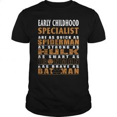 EARLY CHILDHOOD SPECIALIST - BATMAN - #make t shirts #designer t shirts. BUY NOW => https://www.sunfrog.com/LifeStyle/EARLY-CHILDHOOD-SPECIALIST--BATMAN-Black-Guys.html?60505