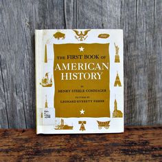 Mid-Century History Book  The First Book of American by FranknEd