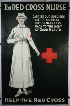 4-The-Red-Cross-Nurse-Artist-unknown-1918 we got nuthin to complain about!!!!!!!!!
