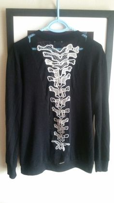 Hot topic sz large spine cardigan! So cute!