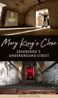 Head underground in Edinburghs Old Town to discover the lost 17th century streets of the Real Mary Kings Close, buried beneath the Royal Mile. #Edinburgh #Scotland #MaryKingsClose