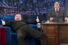Ricky Gervais and Jimmy Fallon - hilarious