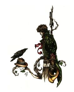 Mat Cauthon - the Raven Prince by Alsdale.deviantart.com I kind of want this as a tattoo...