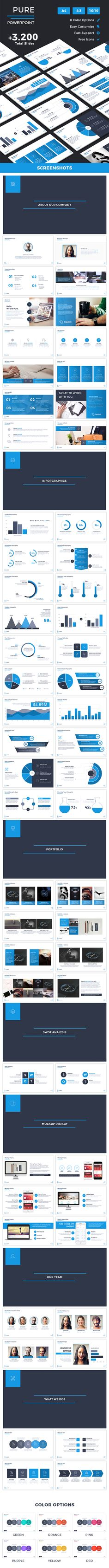 Pure Powerpoint Template