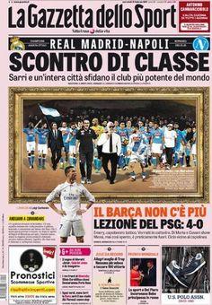 Gazzetta dello Sport prima pagina oggi 15 febbraio 2017 http://ift.tt/2lIoUHW